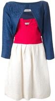 Saint Laurent Pre Owned strapless dress