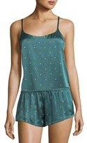 Asceno Jade Star Silk PJ Camisole