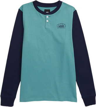 Vans Long Sleeve Henley