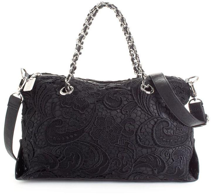 BCBGMAXAZRIA BCBGeneration Handbag, Stella Convertible Satchel, Small