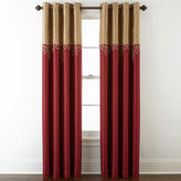 Royal Velvet Captiva Grommet-Top Curtain Panel