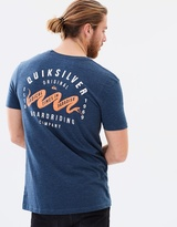 Quiksilver Mens Black Snake 2 T Shirt