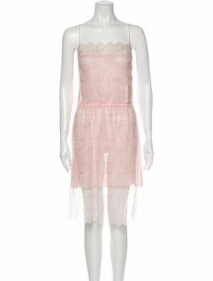 Chanel 2017 Mini Dress w/ Tags Pink