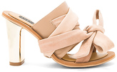 Jaggar Caos Metal Heel in Beige. - size 36 (also in 40)
