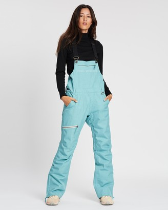 Yuki Threads - Women's Green Pants - Brooklyn Bib and Brace - Size One Size, XS at The Iconic