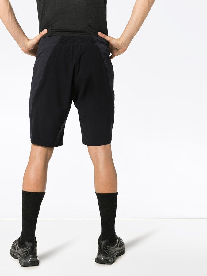 Thumbnail for your product : Veilance Secant Comp track shorts