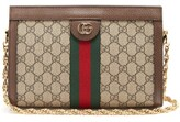 Gucci Ophidia Gg Supreme Canvas Shoulder Bag - Womens - Grey Multi