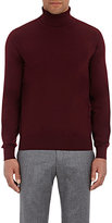 Luciano Barbera MEN'S WOOL TURTLENECK SWEATER