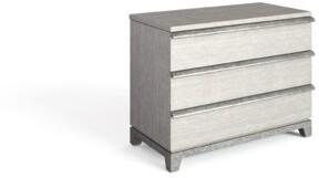 Stanley Furniture 3 Drawer Nightstand in Light Cream