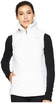 The North Face Mossbud Insulated Reversible Vest (TNF White) Women's Vest