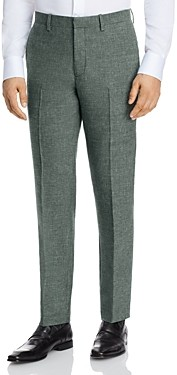 Theory Mayer Halton Melange Slim Fit Suit Pants
