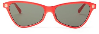 Le Specs Situationship Cat-eye Acetate Sunglasses - Womens - Red