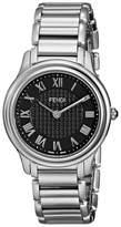 Fendi Women's F251031000 Classico Analog Display Quartz Silver Watch