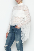 Do & Be Do-Be Lace Belle Sleeve Top