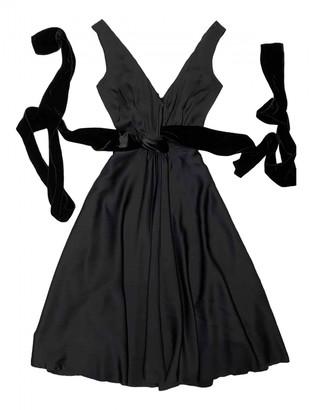 Prada Black Silk Dresses