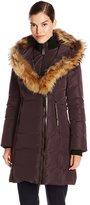 Mackage Women's Kay Down Coat with Fur Trim Hood