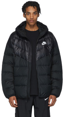 Nike Black Down Windrunner Jacket