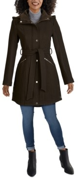 GUESS Belted Hooded Coat
