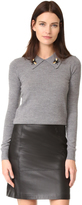 Markus Lupfer Bee Collar Sweater