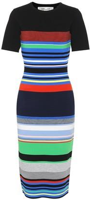 Diane von Furstenberg Striped knit dress