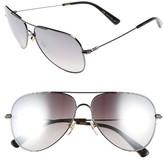 MCM Women's 60Mm Aviator Sunglasses - Dark Ruthenium