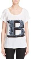 Burberry 'B' Graphic Print Tee