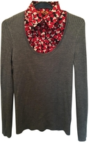 Tory Burch Grey built in floral shirt