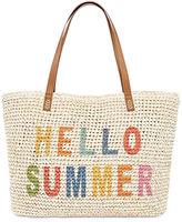 Asstd National Brand Hello Summer Tote Bag