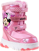 Josmo Pink Dot Minnie Mouse Snow Boots - Toddler & Girls