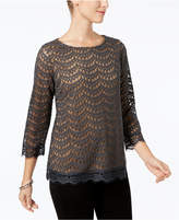 Charter Club Lace Top, Created for Macy's