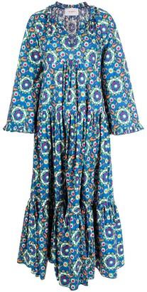 La DoubleJ Dove tiered shirt dress