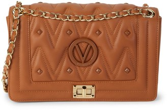 Mario Valentino Alice D Sauvage Quilted Leather Shoulder Bag
