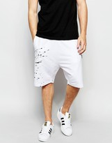 Izzue Shorts With Contrast Insert