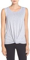 Zella Women's 'Twist & Breathe' Tank