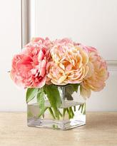 John-Richard Collection Petite Peony Faux Floral