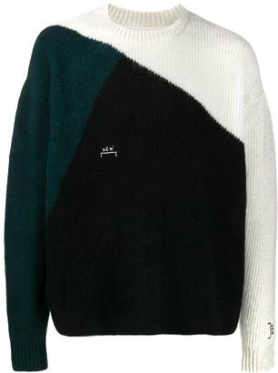 A-Cold-Wall* Colour-Block Knit Jumper