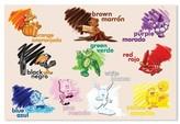 Melissa & Doug Bilingual Colors Cardboard Floor Puzzle (24 pcs) - Spanish and English