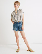 Madewell The Perfect Jean Short in Bergman Wash