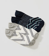 LOFT Stripe & Zig Zag No Show Sock Set