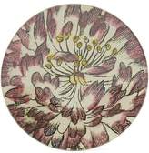 John Derian Pink-Tipped Rose Small Round Plate