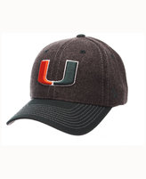 Zephyr Miami Hurricanes Anchorage Snapback Cap