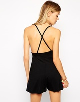 Asos Barely There Playsuit