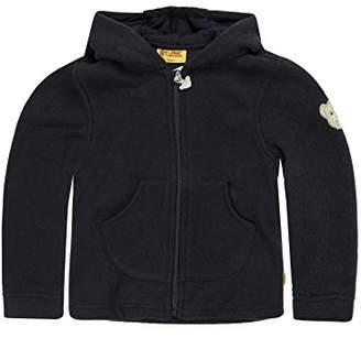 Steiff Baby Sweatshirt 0006837 Jacket, Blue Marine, (Size:86)