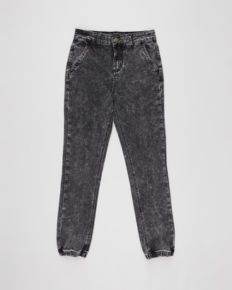 Rock Your Kid Acid Wash Denim Jeans - Kids-Teens