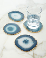AERIN Agate Coasters, Set of 4