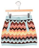 Missoni Girls' Knit Mini Skirt