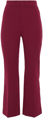Joseph Terell Stretch-cotton Twill Kick-flare Pants