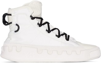Y-3 Ren hi-top sneakers