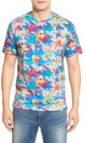Robert Graham Men's 'Pixels' Print Pima Cotton T-Shirt