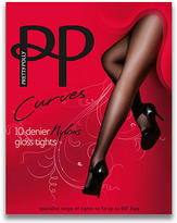 Pretty Polly Curves Gloss Pantyhose Plus Size